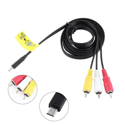 Multi AV Cable Camera Cable for Sony HDR-PJ220//CX230//CX220//PJ240//CX240 Cameras
