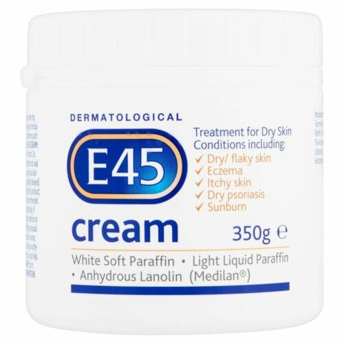 E45 Dermatological Cream Treatment for Dry Skin Conditions -350 g