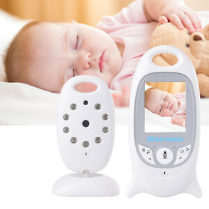 funk drahtlos babyphone mit kamera video monitor nachtlicht babyviewer 2 0 3 5 4894663026196. Black Bedroom Furniture Sets. Home Design Ideas
