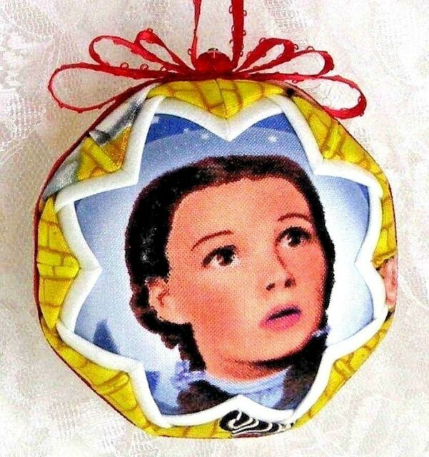 WIZARD OF OZ COLLECTIBLE 5 PCE SET QUILTED BALL CHRISTMAS ...