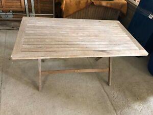 Sehr Garpa Klapptisch Tisch Gartentisch mit Schirmloch Original CX33
