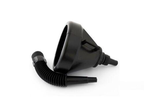 Einfülltrichter Kraftstofftrichter Benzintrichter flexiblen Schlauch 2tgl top