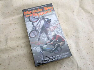 New-in-package-Miracle-Boy-Nyquist-ET-BMX-Velo-video-VHS-caracteristiques-Dave-Mirra