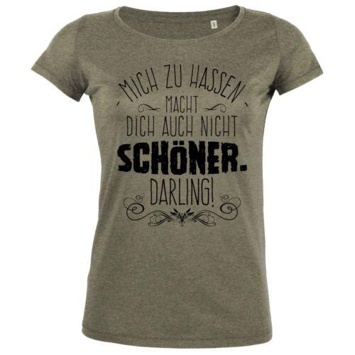 FABTEE Mich zu hassen Humor Spruch Eifersucht Spaß Statement Fun Frauen Shirt