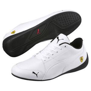 Details about Puma Ferrari Drift Cat 7 White Leather Men's Shoes New In Box  100% Authentic