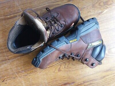 d96026a59d4 Men's Wolverine W02292, Carbonmax Toe Lace Up Work Boots 7.5 M, Brown,  boxed | eBay