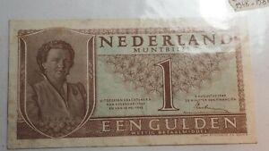 Nederland Billet 1 GULDEN 1945