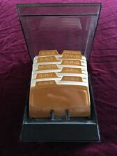 Vintage Rolodex Petite S-310 C Contact Holder W/ New Unused Cards!