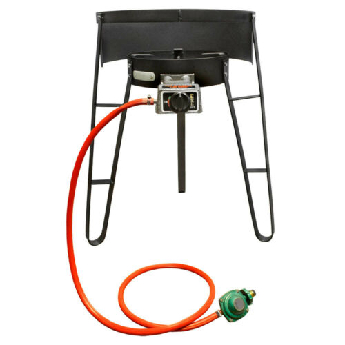 Portable Propane Gas Stove Burner 26,000 BTU Camping Stove Cookware