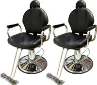 Lot2all Purpose Reclining Hydraulic Barber Chair Salon Beauty Shampoo Equipment on sale