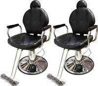 Lot2all Purpose Reclining Hydraulic Barber Chair Salon Beauty Shampoo Equipment