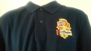 0a27ac2a Image is loading HARRY-POTTER-GRYFFINDOR-POLO-SHIRT