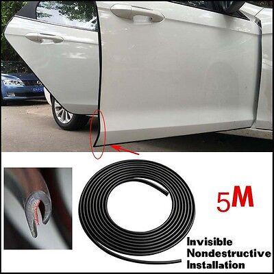 Car Door Guard Edge Protector Trim Black Strip 2m NEW 2 METERS VAN VEHICLE