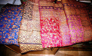 AFGHAN CASHMERE WOOL BED SPREAD PATU SOFA BLANKET SHEET PATOO THROW INDIAN 9'x7'