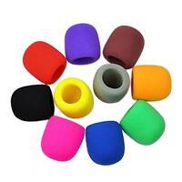 Colorful Windscreen Karaoke Cover 10x Cover Microphone Foam Sponge Handheld Mic