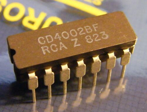 50x cd4002bf Dual 4-input NOR gate RCA