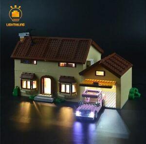 LED-LIGHT-KIT-for-Lego-The-Simpsons-House-71006-Complete-LED-Light-Kit