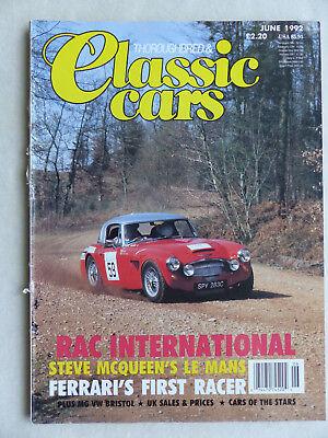 Mg Tf Austin Ferrari Vw Beetle Bristol Strukturelle Behinderungen Zielstrebig Classic Cars Uk-magazin 06/1992