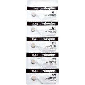 5-x-Energizer-321-Watch-Batteries-0-MERCURY-equivilate-SR616SW