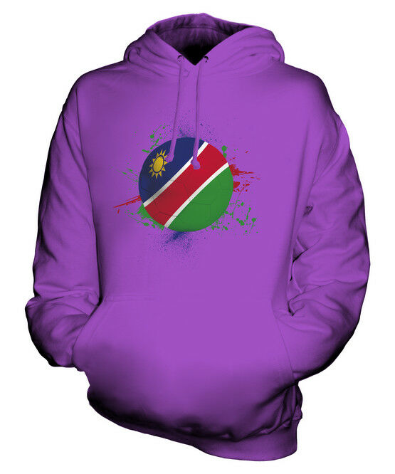 NAMIBIA FOOTBALL UNISEX HOODIE TOP GIFT WORLD CUP SPORT