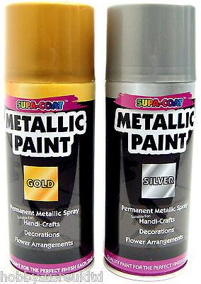 Gold Spray Paint Silver Spray Paint Metallic Spray Paint Aerosol Spray Paint New