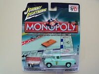 Johnny Lightning - Monopoly 70th - Electric Company - '55 Chevy Cameo Pickup