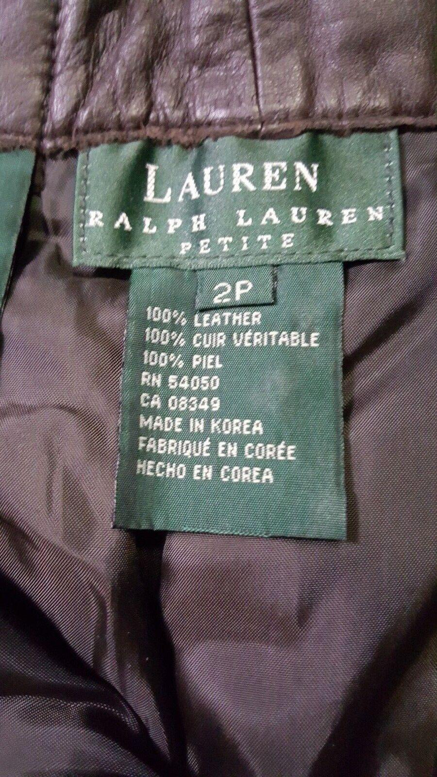 Neu Lauren Ralph Ralph Ralph Lauren Braunes Leder Petite Hose | Deutschland Shop  |   | Zuverlässiger Ruf  abb6d6
