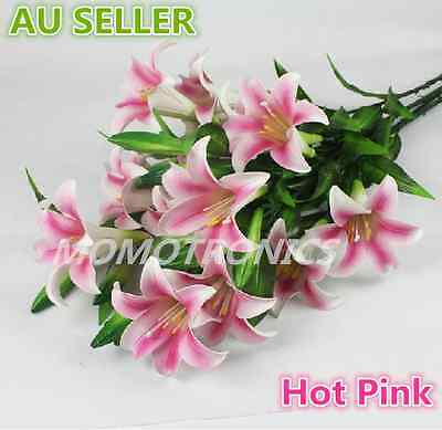 ARTIFICIAL LILY PU LATEX REAL TOUCH FLOWER Home/Party/Wedding Decoration