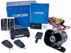 clifford matrix 3105x car alarm security system keyless entry image is loading clifford matrix 3105x car alarm security system