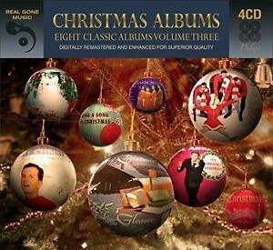eight 8 classic christmas albums vol 3 various artists best of music 4 cd