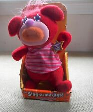 Fisher Price 2010 Red Sing a Ma Jig in box~Works~Yankee Doodle song