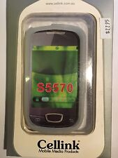 Samsung Galaxy Mini (S5570) Silicon Case in White SCC6462WH Brand New in package