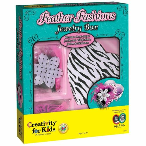 Feather Fashions Jewellery Box Creativity for Kids