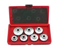 ABN Paper Cartridge Housing Oil Filter Cap Wrench 7-Piece Socket Set Tool Kit