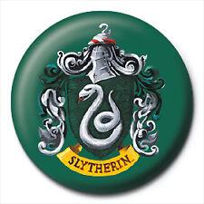 1 x Harry Potter Hogwarts House Crest 32mm BUTTON PIN BADGE Logo Book Wand Gift