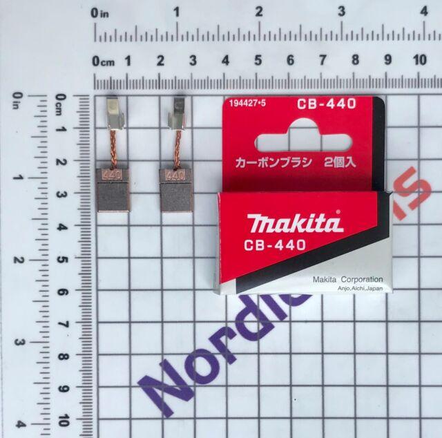 Makita Kohlebürsten CB440 18V LXT Akku-Geräte BDF440 BDF441 BHP451 BHP452 DTD146