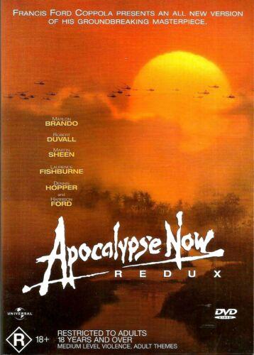 1 of 1 - APOCALYPSE NOW REDUX New Dvd MARLON BRANDO MARTIN SHEEN ***
