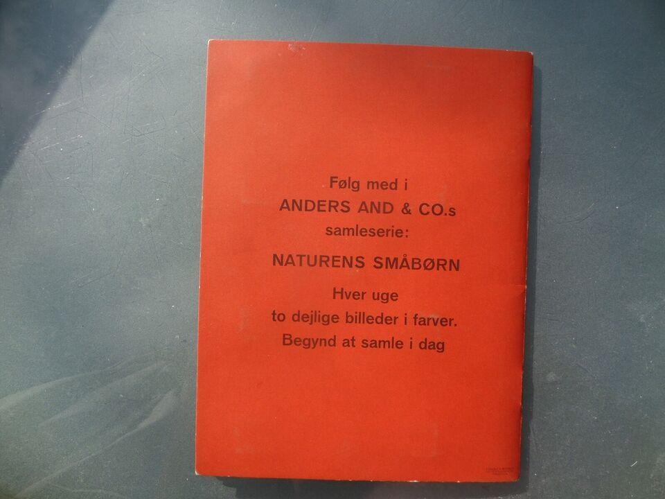 ANDERS AND SAMLEALBUM 1961, W.D., Tegneserie