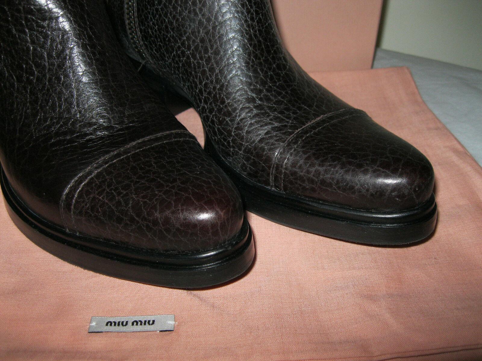 Miu miu miu miu by PRADA botas, Nuevo, Tamaño 36.5 0c27d4