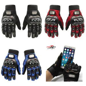 Guanti-PRO-BIKER-motociclista-prese-aria-moto-motocross-touch-per-smartphone