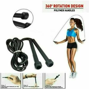 Speed Skipping Rope Boxing Jumping Crossfit Weight Loss Exercise Girls Fitness