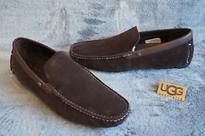 b565eb8d537 Details about UGG BEL-AIR SLIP-ON VENETIAN DRIVING LOAFERS, US 10 Mens,  Color: STOUT, 1094649