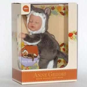 Anne GEDDES bambole Bean riempito di raccolta NUOVO in una scatola
