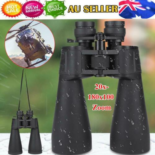 70mm Tube 20x180x100 Zoom Day & Night Vision Binocular Hunting Scope Telescope