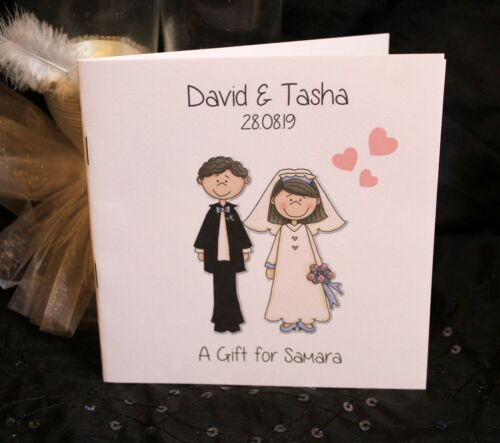 Personalised Childrens Kids Wedding Activity Pack Book Favour  6x6inch AB68