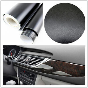 3D-black-Leather-Texture-Sheet-Car-Auto-Interior-Trim-Vinyl-Film-Wrap-Sticker