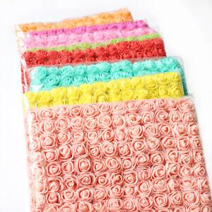 144Pcs-Artificial-Foam-Mini-Roses-Head-Small-Flowers-Wedding-Home-Party-Decor