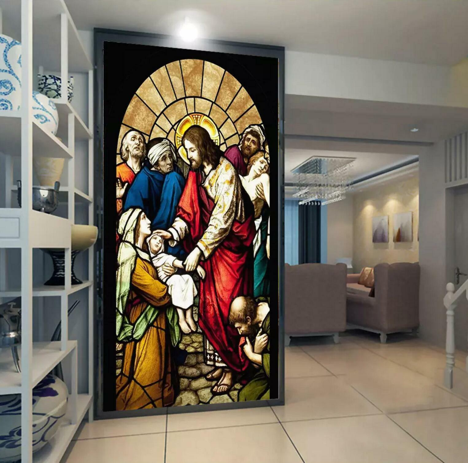 3D Church God Image 5 Wall Paper Wall Print Decal Wall Deco Wall Indoor Murals