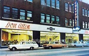 Photo. 1960s. Pittsburgh, PA. Don Allen Chevrolet - Auto ...