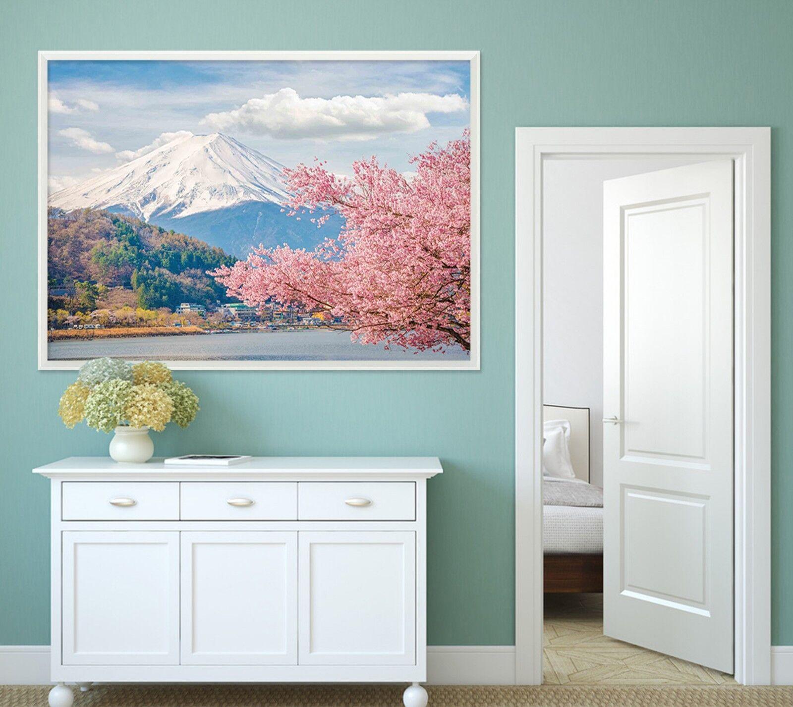 3D Mount Fuji Scenery 1 Framed Poster Home Decor Print Painting Art AJ WALLPAPER